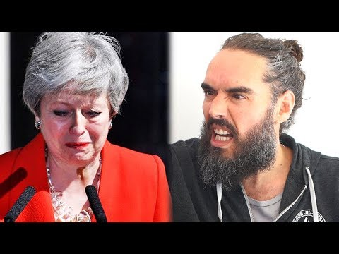 The Truth In Theresa Mays Tears | Russell Brand