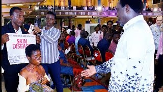SCOAN 07/05/17: Healing Testimonies After Prophecy & Deliverance with TB Joshua