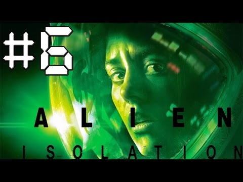 Alien Isolation Walkthrough Gameplay - Episode 6 - Android Madness