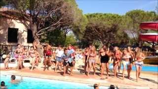 Camping les Aubrèdes - Flashmob Li Tourné