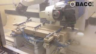 BACCI - EVOLUTION TGV 12 AXIS CNC ROUTER WITH DOUBLE HEADS - COFFINS PRODUCTION
