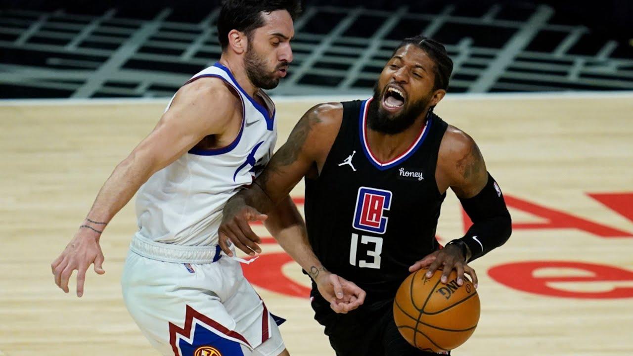 Download Paul George Misses Open Layup vs Nuggets! 2020-21 NBA Season