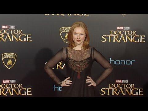 """Molly C. Quinn """"Doctor Strange"""" World Premiere Red Carpet"""