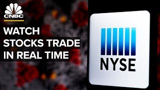 Watch stocks trade in real time - 4/6/2020