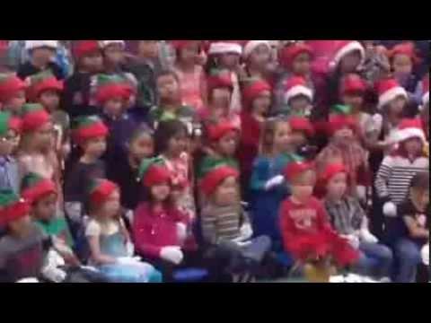 Oroville Elementary School K-3 Christmas Concert 2013