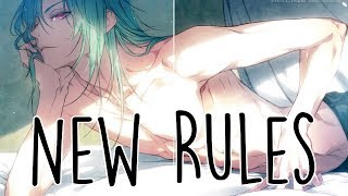 Nightcore - New Rules [male]