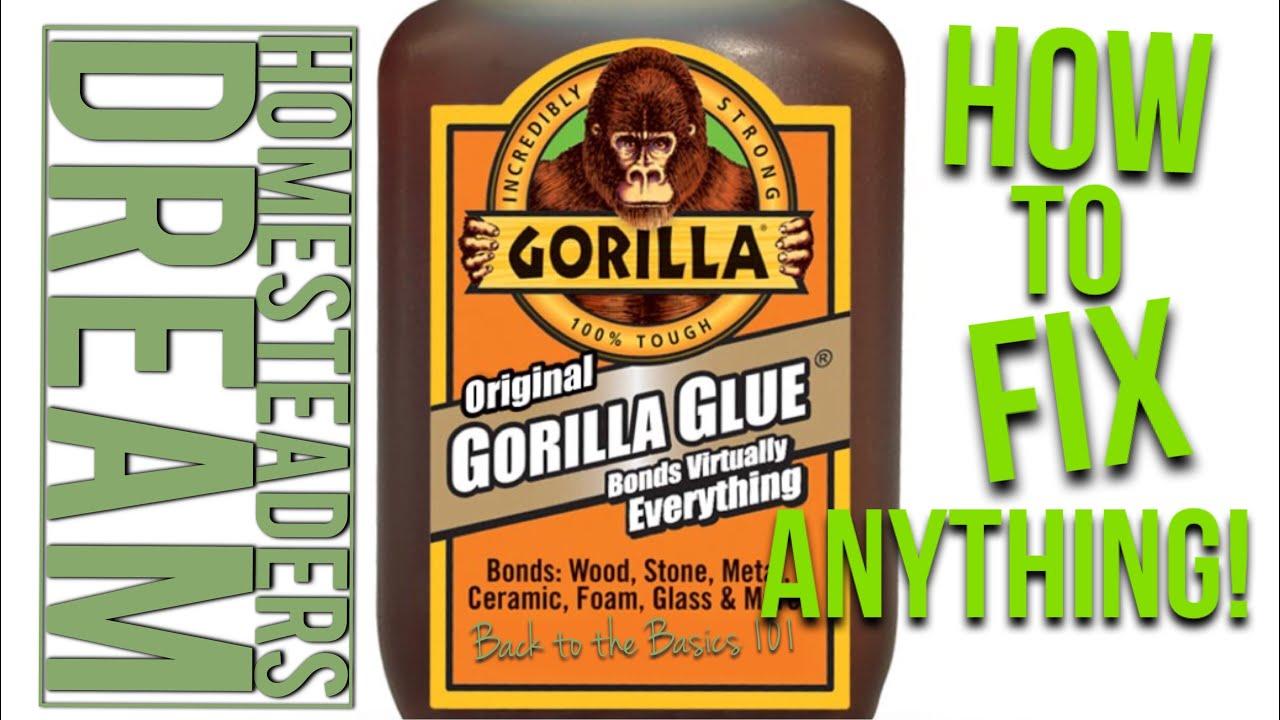Gorilla Glue Review >> Original Gorilla Glue Review