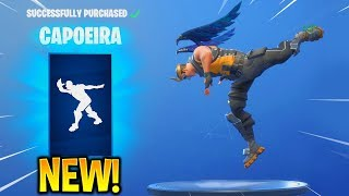 *NEW* FORTNITE CAPOEIRA EMOTE WITH AN EPIC EMPLOYEE SKIN..!! (New Item Shop)