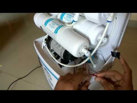 RO water purifier wiring