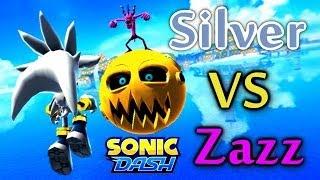 Sonic Dash - Silver VS Zazz [Widescreen / Landscape] thumbnail
