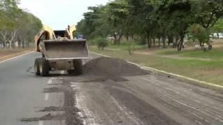 Arranque del Plan Especial de asfaltado 2015 de Ciudad Guayana