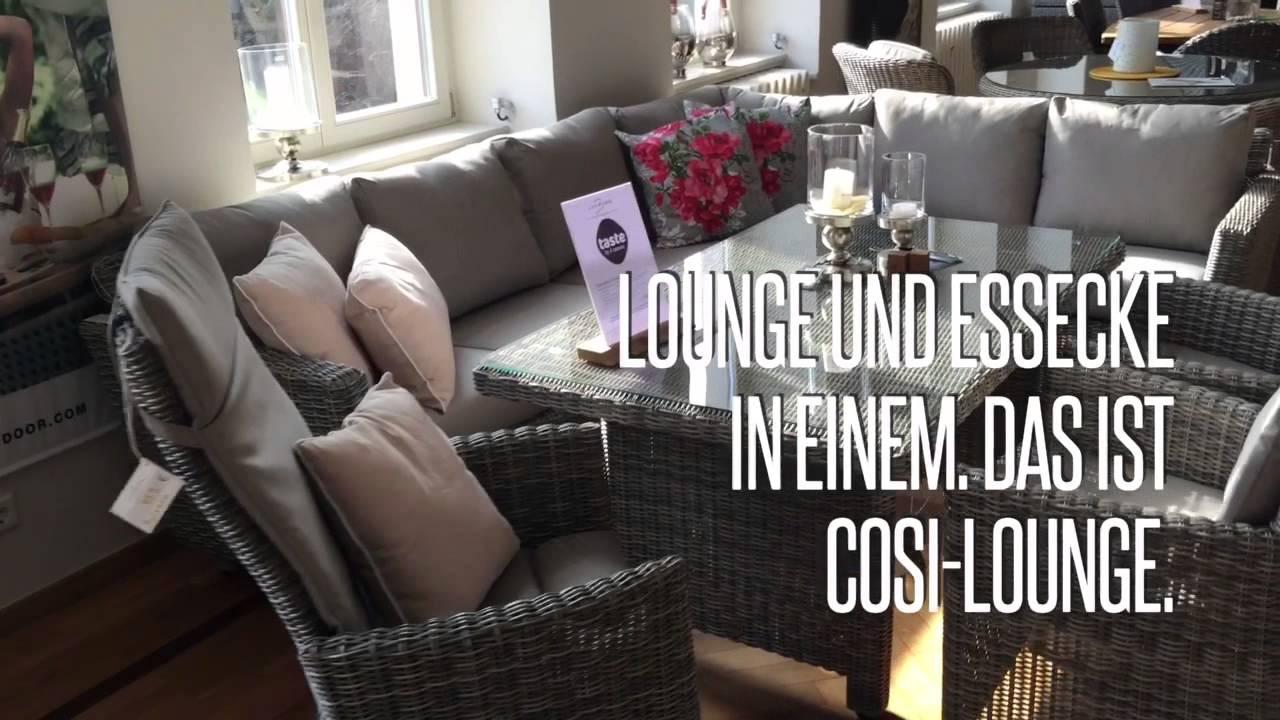 Taste - Fortaleza Sitzgruppe Cosi-Lounge - YouTube
