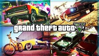 GTA 5 DLC Garage Tour! GTA V - (GTA 5 Online) iCrazyTeddy Lowrider DLC Cars Garage Showcase!