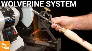 Repeat youtube video Wolverine Sharpening System (woodturning sharpening system)