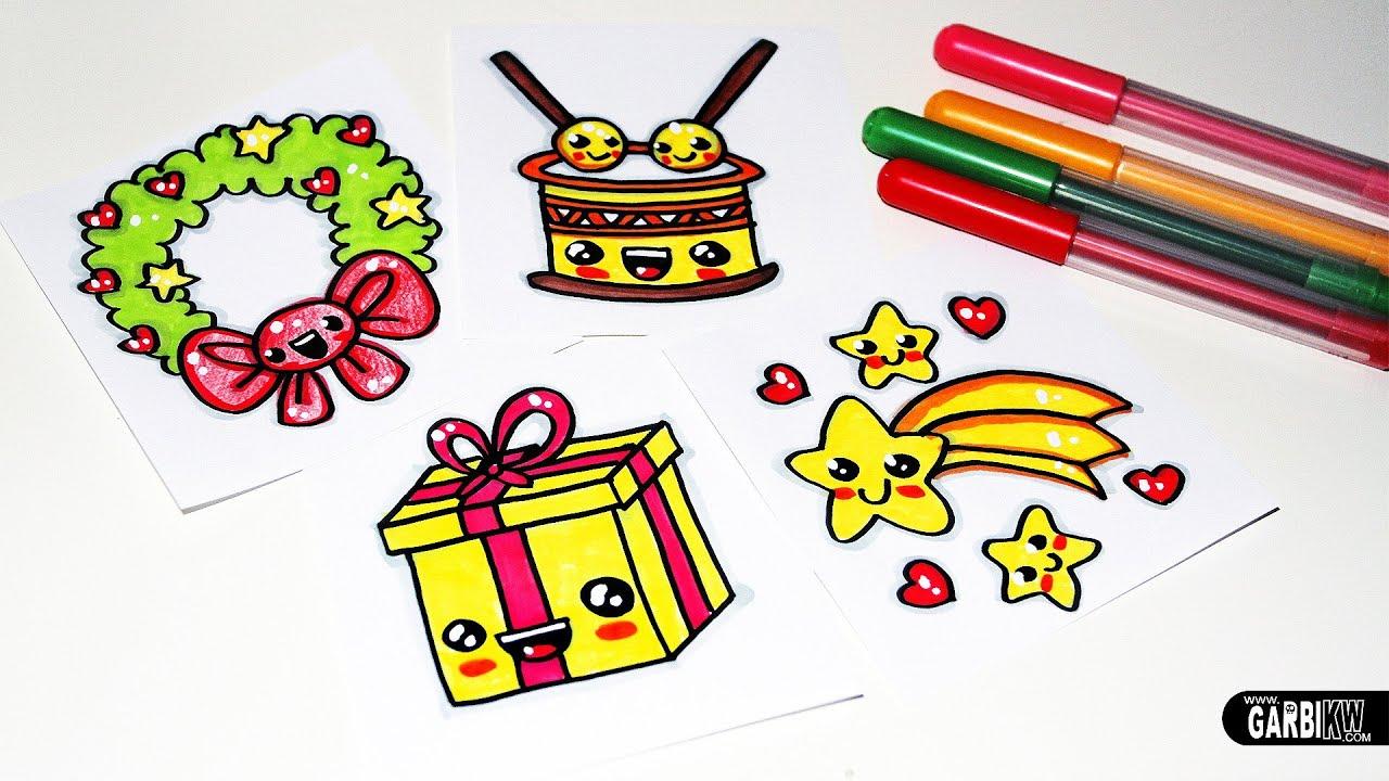 Pics Of Christmas Stuff how to draw christmas stuff - easy and kawaii drawingsgarbi kw