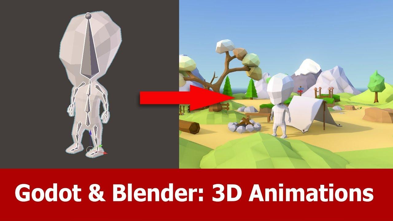 Blender & Godot : 3D Animations - YouTube