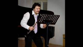 Milan Rericha - Moto Perpetuo Masterise, clarinet