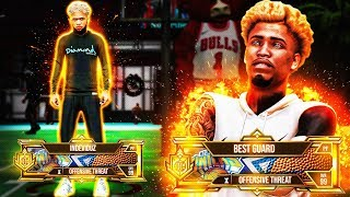 I created the FASTEST OFFENSIVE THREAT BUILD IN NBA 2K20! 99 SPEED w/ BALL and Shoot like SHARP