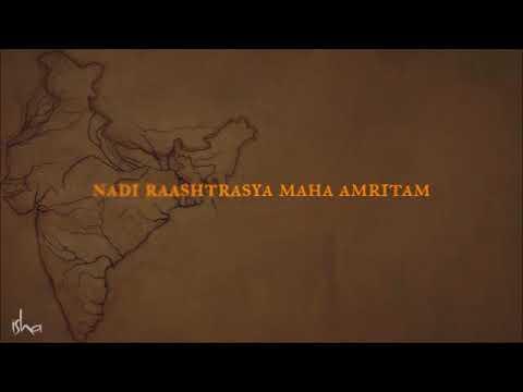 Nadi Stuti Chant Bharatam Mahabharatam  1hr Loop! Sadhguru Rally for Rivers