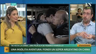 Una aventura insólita: poner un súper argentino en China