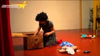Interpretação teatral O Cabelo de Lelê