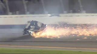 Ryan Newman awake, speaking with family after fiery crash at Daytona 500