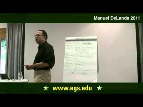 Manuel DeLanda. Economies of Scale and Agglomeration. 2011
