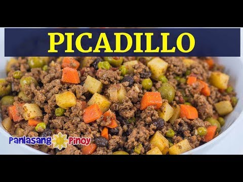 Picadillo Filipino Picadillo Version Picadilyo Youtube