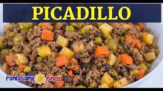 Picadillo  | Filipino Picadillo Version | Picadilyo