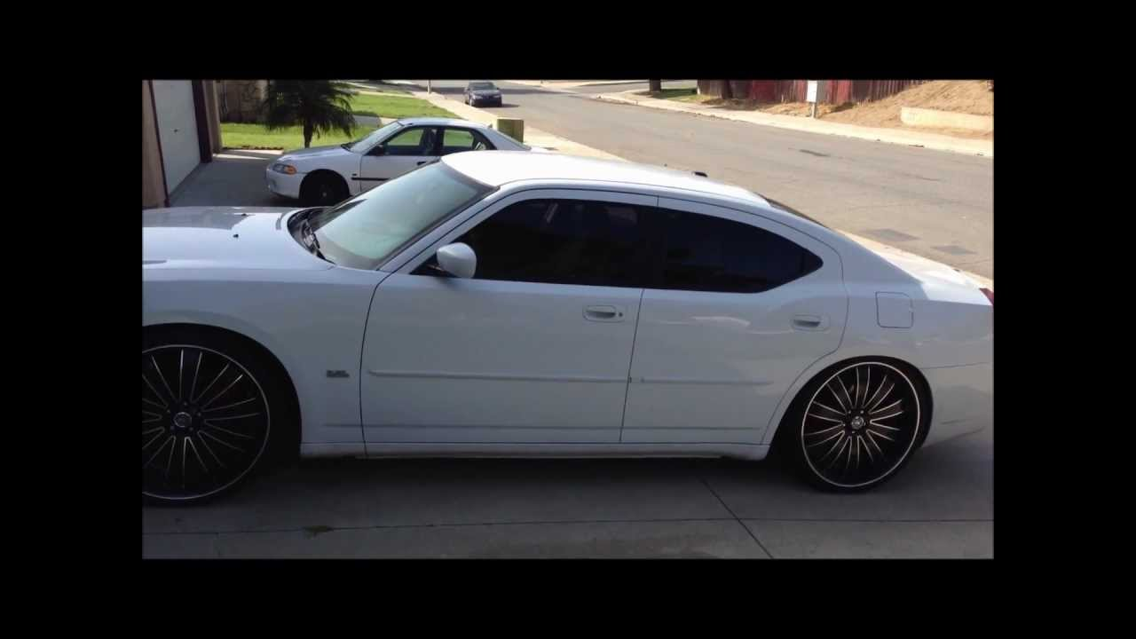 Plasti Dip Your Car Dodge Charger Roof Youtube