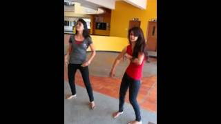 cute college girl dance for money