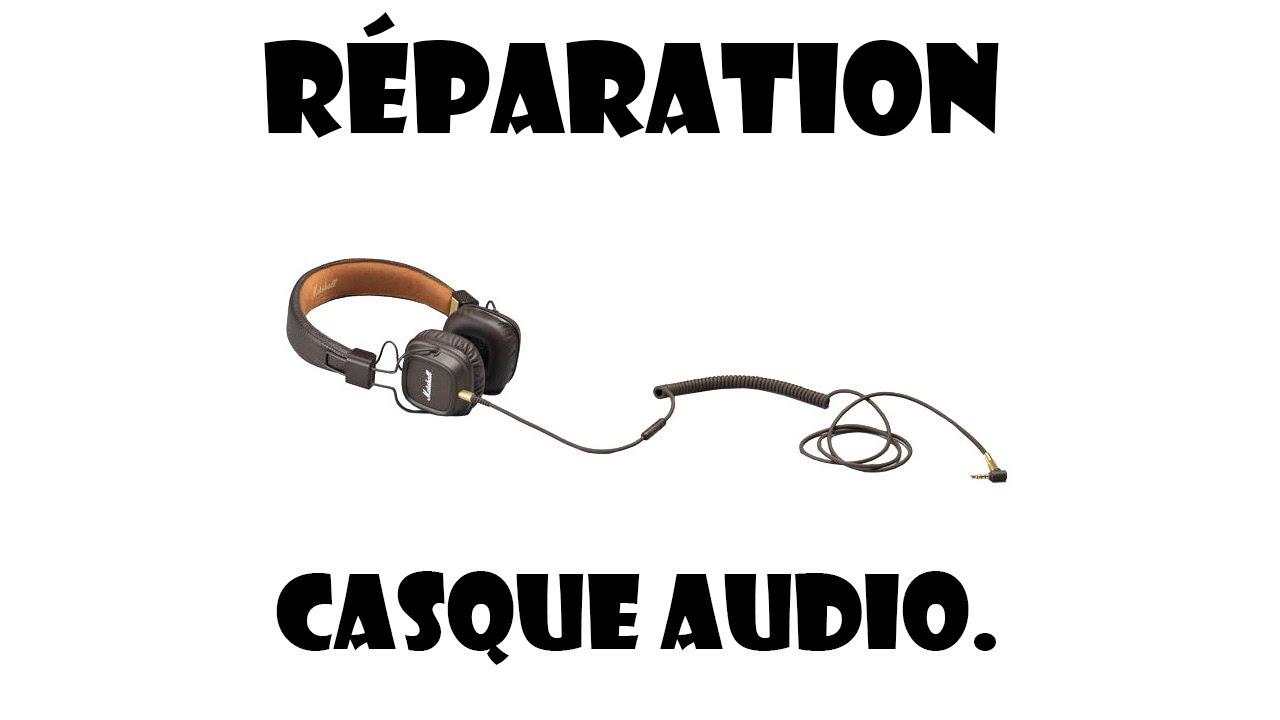 Tuto Reparation Casque Audio Remplacement De Pa Prise Jack Youtube