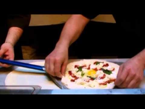Pizza Making The Best Original Brunch Recipe From Tavola Hells Kitchen