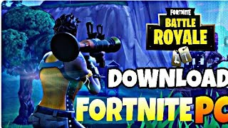 How To Download Fortnite For PC DOWNLOAD Directly From Browser