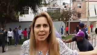 INDIGNANTE: SERENOS DE MAGDALENA TALAN ÁRBOLES Y AGREDEN A VECINOS.