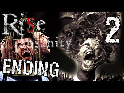 Rise of Insanity - THE FINALE / ENDING (Full/Non Early Access), Manly Let's Play [ 2 ]