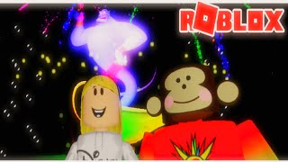 An Aladdin show!!! 🧞I Roblox Movie Land I Rebeccas Creations