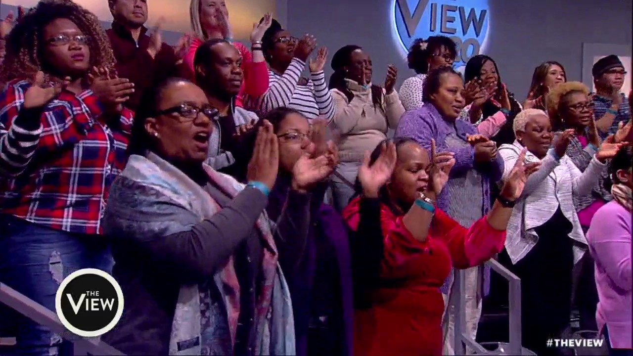 'View' Co-Hosts Walk Out To Stevie Wonder's 'Happy ...