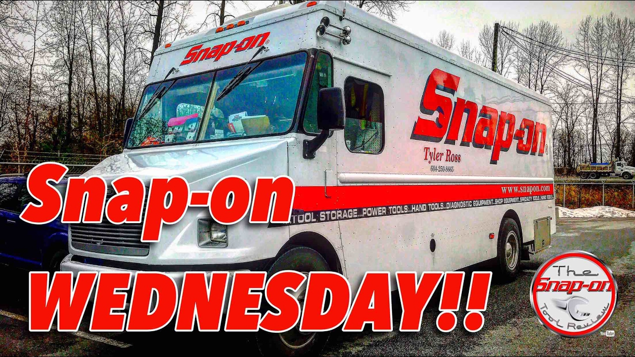 Snap On Wednesday New Dealer And New Tools A Must See Youtube