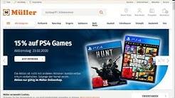 News - Müller 15% auf PS4 Games