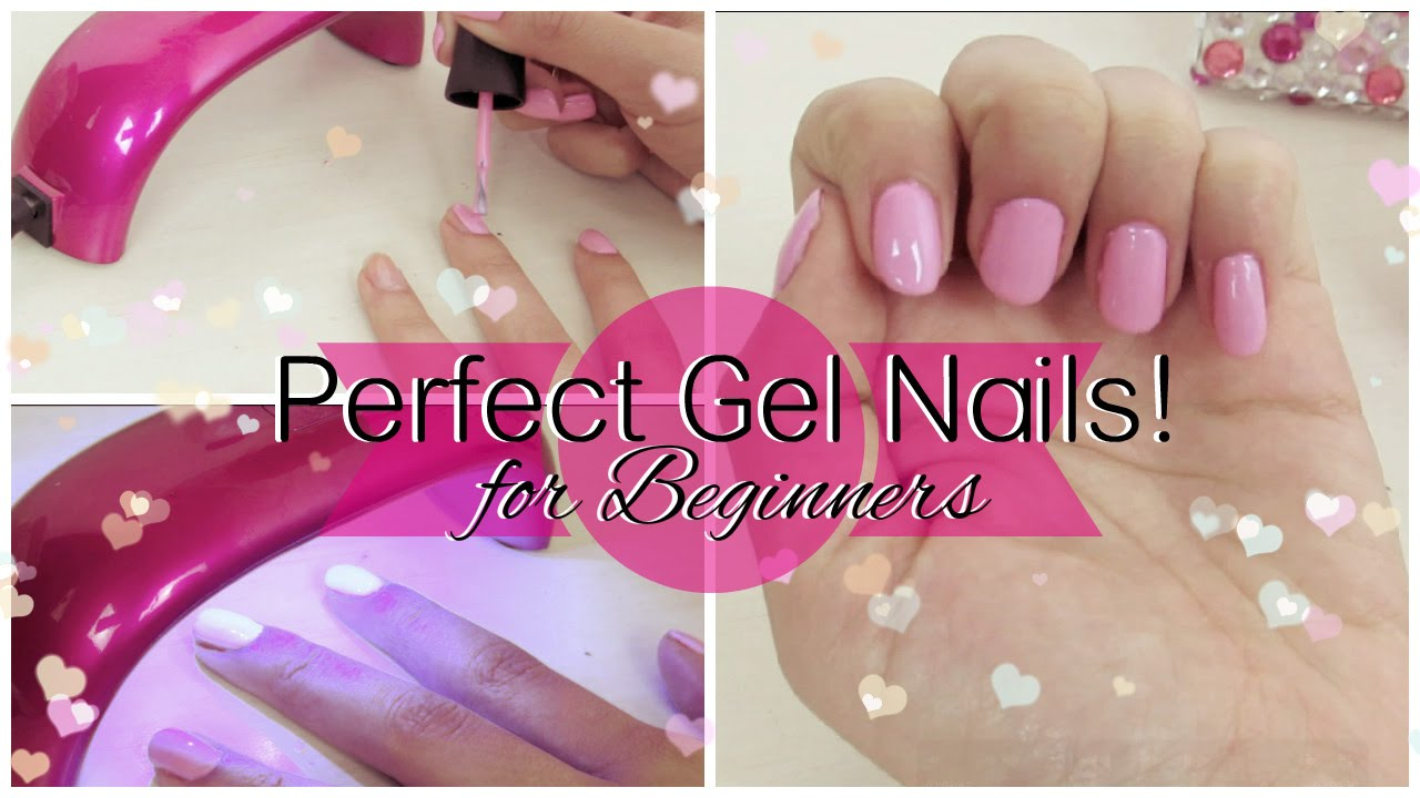 How to perfect gel nail manicure tutorial for beginners youtube solutioingenieria Choice Image
