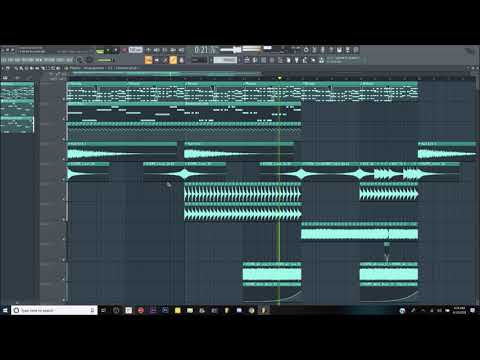 Tweekacore & Darren Styles - Crash and Burn (Small FL Studio Melody Remake/Edit)