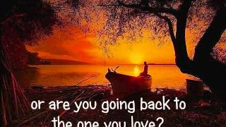 THE ONE YOU LOVE - Glenn Frey (Lyrics)