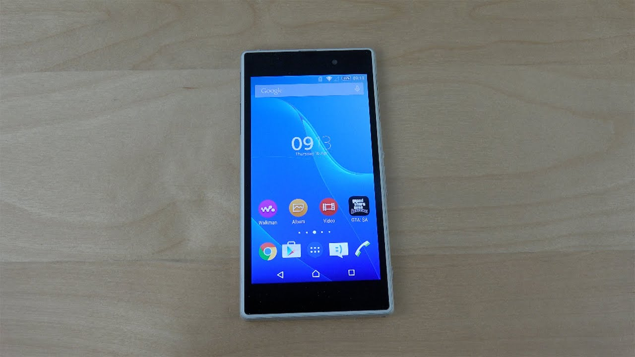 Sony Xperia Z1 Official Android 5.0.2 Lollipop
