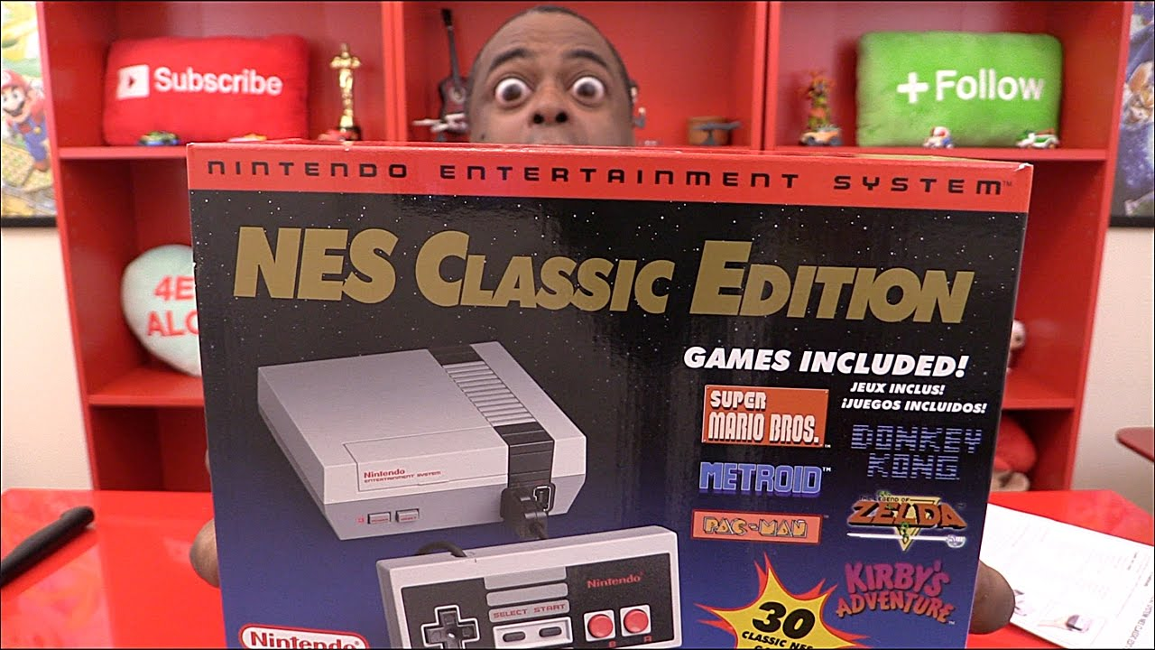 Nes Classic Edition Unboxing Demo Youtube