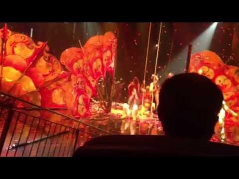 Cirque du soleil - Beatles love - finale
