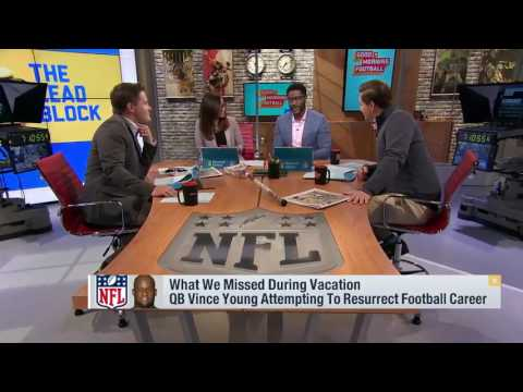 Can Vince Young resurrect his football career in the CFL   Good Morning Football   Feb 20, 2017