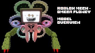[Roblox?!] Omega Flowey Mech - Model Overview