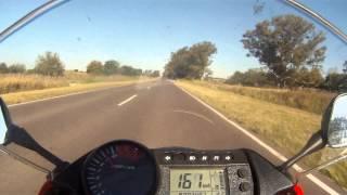 Hyosung 650gtr diamante top speed 232km/h