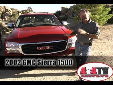 2002 GMC Sierra 2500 Crewcab 4x4 Test - 4x4TV Test Videos